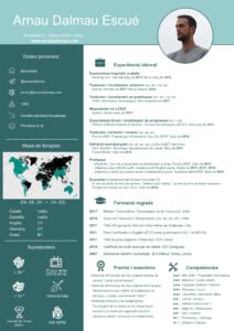 CV Arnau Dalmau - Traductor i maquetador en alemany, anglès, català i castellà